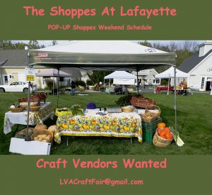 CRAFT VENDORS WANTED