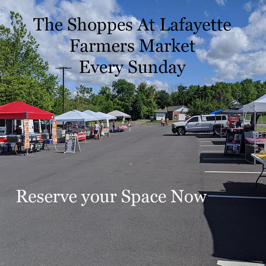 Farmers Market Starts April 18